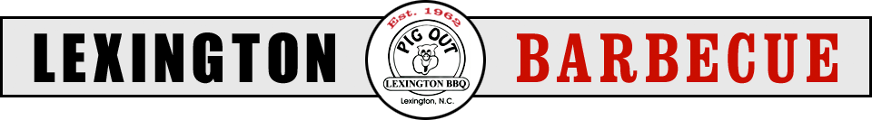 Lexington Barbecue, Lexington, NC, Honey Monk's, Lexington Style BBQ